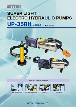 Super light electro hydraulic pumps